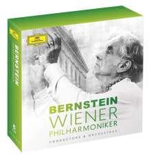 Leonard Bernstein und die Wiener Philharmoniker, 8 CDs