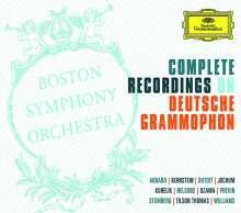 Boston Symphony Orchestra - Complete Recordings on Deutsche Grammophon, 57 CDs