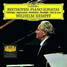 Ludwig van Beethoven (1770-1827): Klaviersonaten Nr.8,14,23 (180g), LP