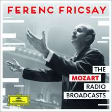 Ferenc Fricsay - The Mozart Radio Broadcasts, 4 CDs