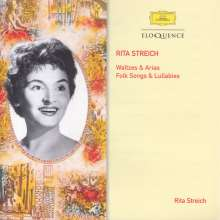 Rita Streich - Waltzes & Arias / Folksongs & Lullabies, 2 CDs