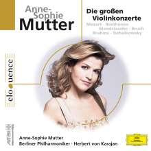 Anne-Sophie Mutter - Die großen Violinkonzerte, 4 CDs