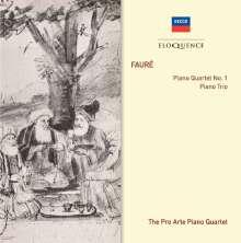 Gabriel Faure (1845-1924): Klavierquartett Nr.1, CD