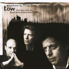 "Philip Glass (geb. 1937): Symphonie Nr.1 ""Low Symphony"", LP"