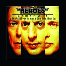 "Philip Glass (geb. 1937): ""Heroes"" Symphony (180g), LP"