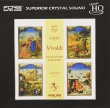 "Antonio Vivaldi (1678-1741): Concerti op.8 Nr.1-4 ""4 Jahreszeiten"" (Ultimatite High Quality CD), CD"