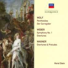 Hugo Wolf (1860-1903): Penthesilea für großes Orchester, 2 CDs