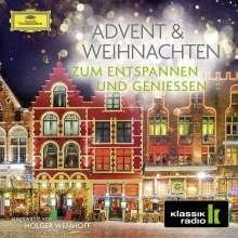 Advent & Weihnachten zum Entspannen & Geniessen, 2 CDs