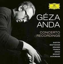 Geza Anda - Concerto Recordings, 12 CDs