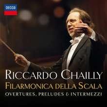 Riccardo Chailly - La Scala: Overtures, Preludes, Intermezzi, CD