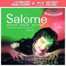 Richard Strauss (1864-1949): Salome (Deluxe-Ausgabe mit Blu-ray Audio), 2 CDs und 1 Blu-ray Audio