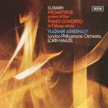 Alexander Scriabin (1872-1915): Klavierkonzert op.20 (180g), LP