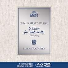 Johann Sebastian Bach (1685-1750): Cellosuiten BWV 1007-1012 (mit Blu-ray Audio), 2 CDs und 1 Blu-ray Audio