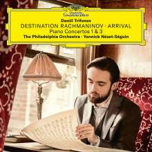 "Sergej Rachmaninoff (1873-1943): Klavierkonzerte Nr.1 & 3 ""Destination Rachmaninov - Arrival"" (180g), 2 LPs"