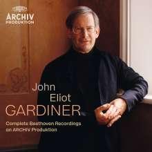 Ludwig van Beethoven (1770-1827): John Eliot Gardiner - The Complete Beethoven Recordings on Archiv Produktion, 15 CDs