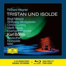 Richard Wagner (1813-1883): Tristan und Isolde (Deluxe-Ausgabe mit Blu-ray Audio), 3 CDs und 1 Blu-ray Audio