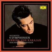 Ludwig van Beethoven (1770-1827): Symphonien Nr.1-9 (180g), 8 LPs
