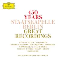 450 Years Staatskapelle Berlin - Great Recordings, 15 CDs