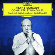 Franz Schmidt (1874-1939): Symphonien Nr.1-4, 3 CDs