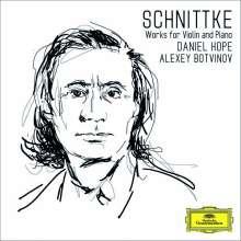 Alfred Schnittke (1934-1998): Werke für Violine & Klavier, CD