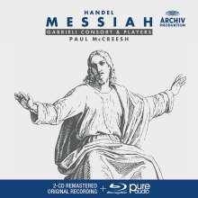 Georg Friedrich Händel (1685-1759): Der Messias (mit Blu-ray Audio), 2 CDs und 1 Blu-ray Audio