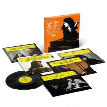 Frederic Chopin (1810-1849): Martha Argerich - Chopin Solo & Concerto-Recordings on Deutsche Grammophon (180g), 5 LPs