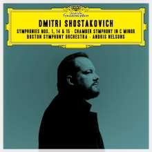 Dmitri Schostakowitsch (1906-1975): Symphonien Nr.1,14,15, 2 CDs