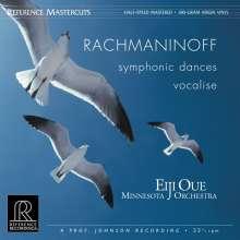 Sergej Rachmaninoff (1873-1943): Symphonische Tänze op.45 Nr.1-3 (180g), LP