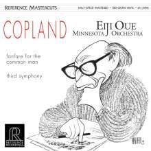 Aaron Copland (1900-1990): Symphonie Nr.3 (180g), LP