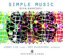 Giya Kancheli (1935-2019): Simple Music - 33 Miniaturen, CD