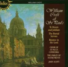 William Croft (1678-1727): Geistliche Werke, CD