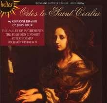 Giovanni Battista Draghi (1640-1708): Ode to Saint Cecilia, CD