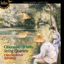 Vincent d'Indy (1851-1931): Streichquartett Nr.1 op.35, CD