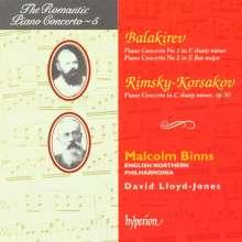Mily Balakireff (1837-1910): Klavierkonzerte Nr.1 & 2, CD