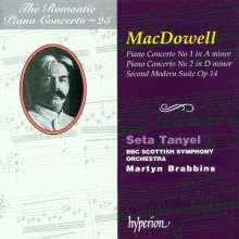Edward MacDowell (1860-1908): Klavierkonzerte Nr.1 & 2, CD