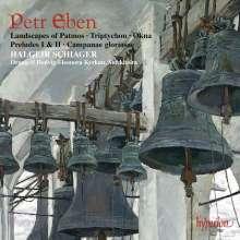Petr Eben (1929-2007): Landscape of Patmos für Orgel & Percussion, CD