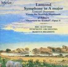Frederic Lamond (1868-1948): Symphonie op.3 A-Dur, CD