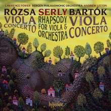 Miklos Rozsa (1907-1995): Violakonzert op.37, CD