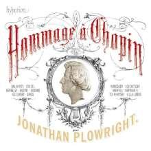 Jonathan Plowright - Hommage a Chopin, CD