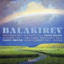 Mily Balakireff (1837-1910): Klaviersonate b-moll, CD