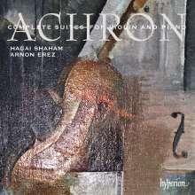 Joseph Isidor Achron (1886-1943): Werke für Violine & Klavier, 2 CDs