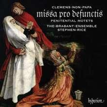 Jacobus Clemens non Papa (1510-1556): Missa pro defunctis (Requiem), CD