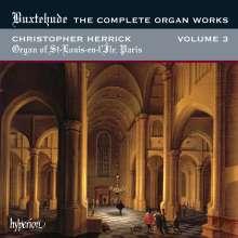 Dieterich Buxtehude (1637-1707): Sämtliche Orgelwerke Vol.3, CD