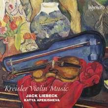 "Fritz Kreisler (1875-1962): Werke für Violine & Klavier - ""Kreisler Violin Music"", CD"