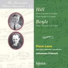 Alfred Hill (1870-1960): Klavierkonzert A-Dur, CD