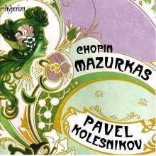 Frederic Chopin (1810-1849): Mazurken Nr.1,10-17,19,22,24,26,30-32,34,35,37,38,47, CD
