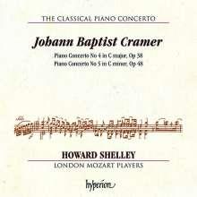 Johann Baptist Cramer (1771-1858): Klavierkonzerte Nr.4 & 5, CD