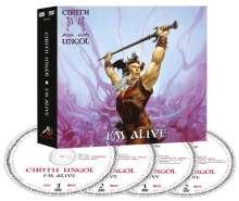 Cirith Ungol: I'm Alive, 2 CDs und 2 DVDs
