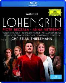Richard Wagner (1813-1883): Lohengrin, Blu-ray Disc