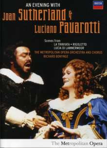 An Evening with Luciano Pavarotti & Joan Sutherland, DVD